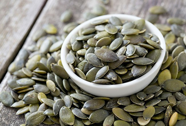 Pumpkin seeds are edible seeds that come from pumpkin