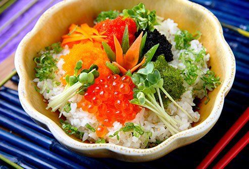 Masago is a type of fish roe.