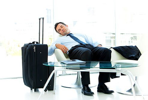 Travel fatigue is a common symptom of jet lag.