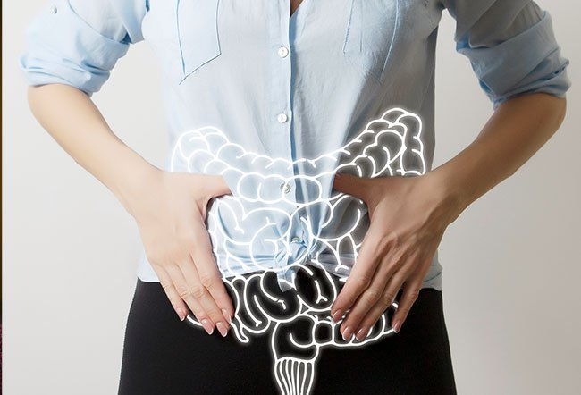 Chronic laxative use deposits dark pigment in the lining layers of the large intestine, causing melanosis coli.