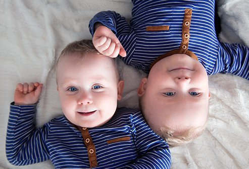Picture of boy twins.