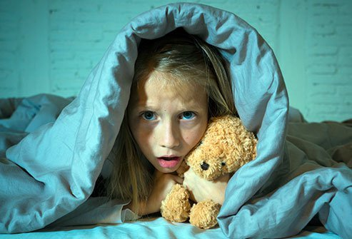 Night terrors do not often require any treatment or tests.