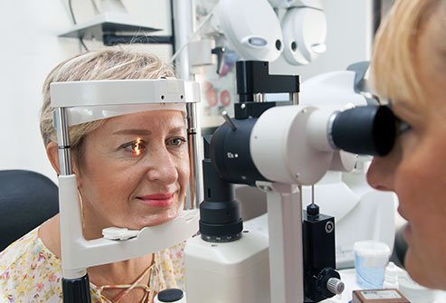 An optometrist is a health professional who does primary health care for the eye.