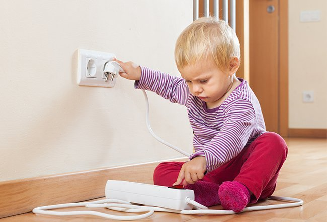 Baby proofing helps protect your child at home. You should baby proof your home before your child starts to crawl.