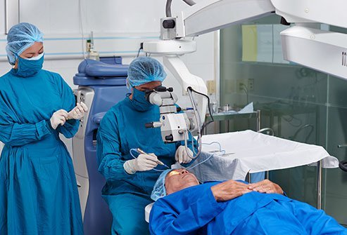 Phacoemulsification with intraocular lens (IOL) is a procedure done for patients having cataract.