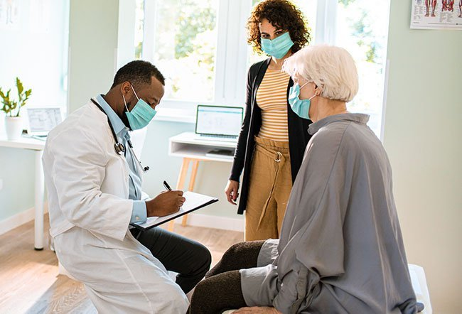 A primary care physician is a medical practitioner who practices general medicine. They are trained to provide definitive care to undifferentiated or uncategorized patients at the point of the first contact.