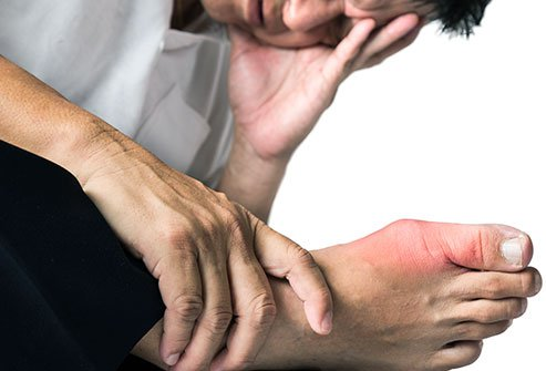 Joint swelling and pain are signs and symptoms of pseudogout.