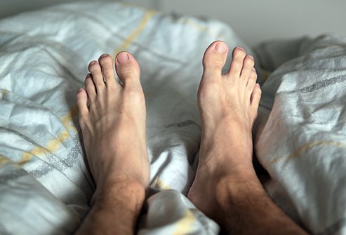 Lifestyle changes and treatment for underlying conditions is the only way to get rid of restless leg syndrome in the long term.