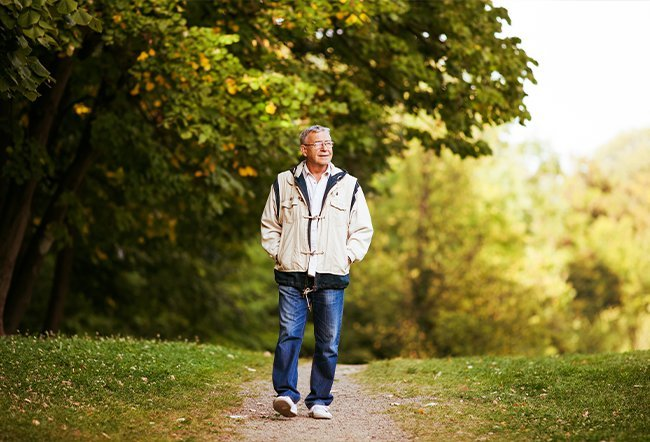 is walking good for lower back pain