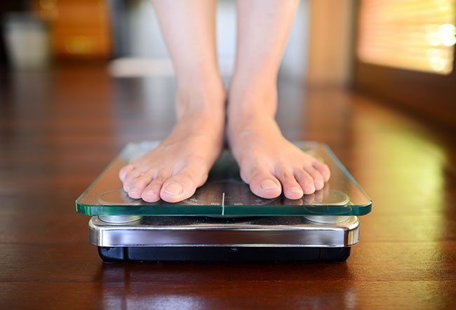 If you weigh yourself during your menstrual period, there are chances that the result may be higher than your actual weight.