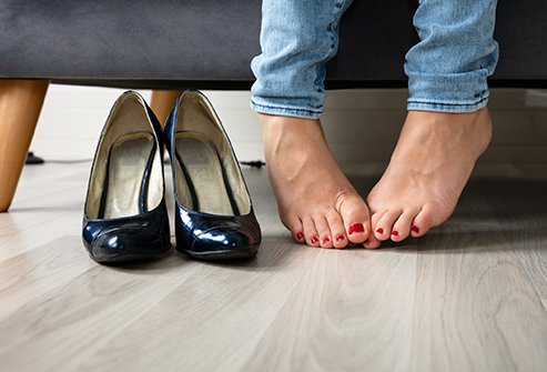Foot odor doesn't come from feet, but from the bacteria that live on them.