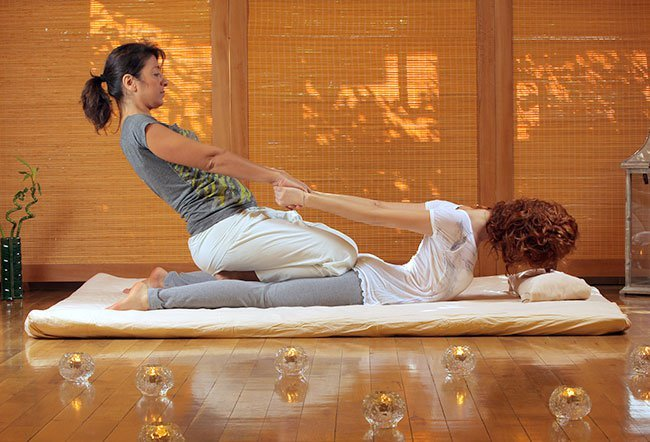 Thai massage has been around for over 2,500 years.