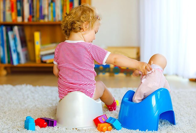Potty training is an important milestone in your child's development. Most toddlers are ready to be potty trained by the age of 18 to 24 months old, but some may not be ready even by the age of three years old.
