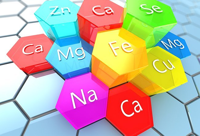 Minerals are nutrients necessary to maintain the body's health. The 13 essential minerals include calcium, magnesium, sodium, potassium and others.