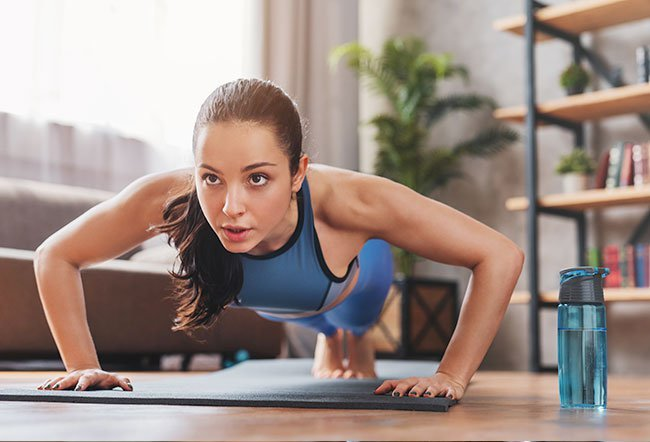 Push-ups are a staple upper body exercise targeting multiple joints and muscle groups