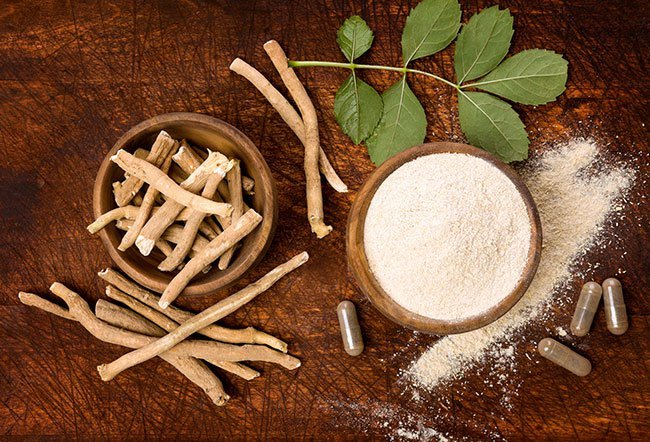 Ashwagandha (Indian Ginseng, Withania, Withania Somnifera) is an herbal supplement used to help the body to deal with stress, fight fatigue, to increase stamina. It has also been used for other purposes, including an aphrodisiac, a tonic, a narcotic, a diuretic,  an anthelmintic (a type of antiparasitic that kills worms), an astringent, thermogenic,  a stimulant, and a topical analgesic (pain reliever).