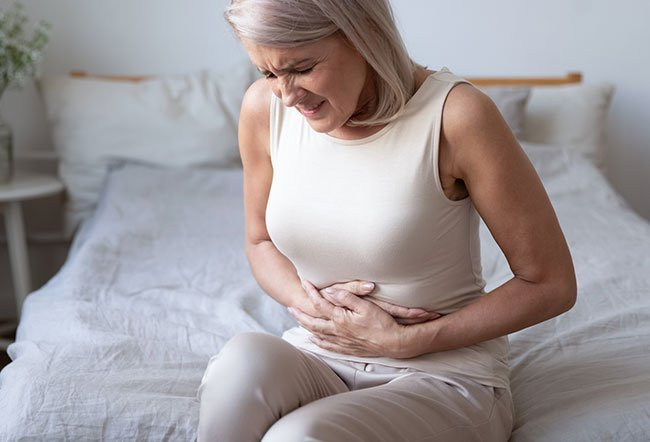 """<i>H. pylori</i> is a common species of stomach bacteria, part of the """"normal flora"""" in billions of people globally. This bacteria in some people, however, can grow out of control, causing GERD, ulcers, and rarely, stomach cancer."""