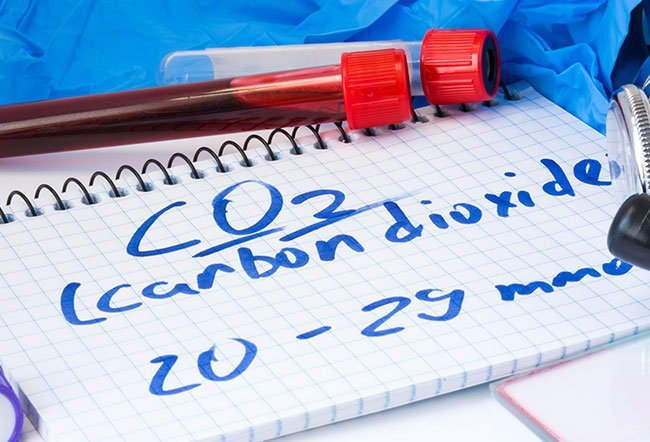 Hypercapnia refers to the accumulation of carbon dioxide