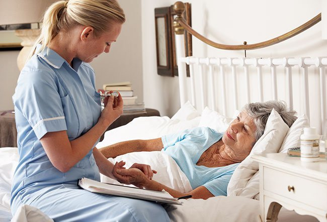 Hospice focuses on care that is palliative, or provides comfort while the patient is dying. Hospice is indicated when doctors deem further attempts to attack an underlying disease may be futile or intolerably reduce the person's quality of life.