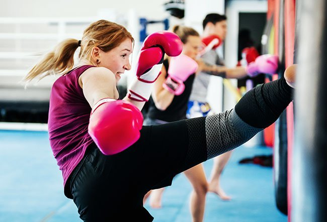 Kickboxing is a versatile martial art that helps strengthen your body and increases your stamina.