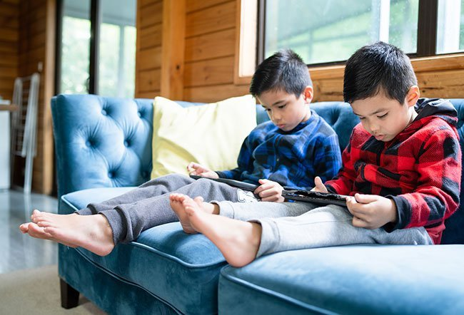 toddler getting too much screen time