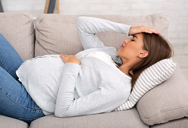Colds during pregnancy are usually not a cause for concern.