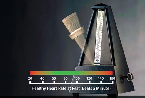 What Heart Rate Is Too High Chart
