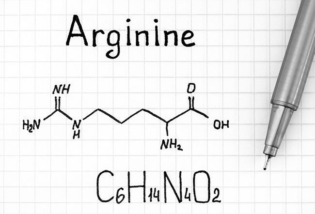 Arginine, also known as L-arginine, is one of the many amino acids that help the body produce proteins.