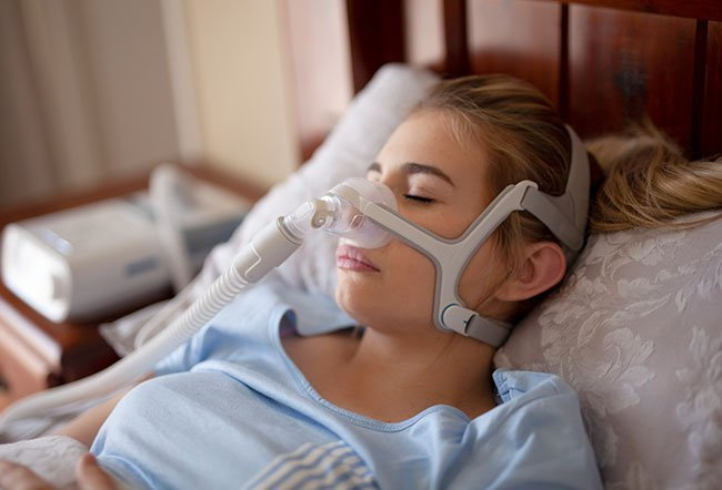 Bilevel positive airway pressure (BiPAP) is a type of noninvasive ventilation. It is used when you have a condition that makes it hard to breathe like sleep apnea, COPD, asthma, heart conditions and other ailments.