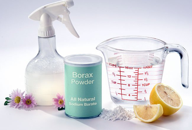Borax is mainly used for cleaning purposes and as a pesticide.