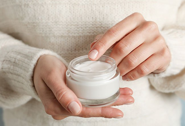 Unlike a cream, the lotions are less greasy and have more water content.