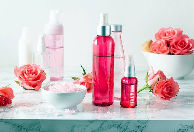 Rose water is flavored water that is of medicinal, cultural and religious importance in various places all around the world. Rose water offers various cosmetic and health benefits because of the presence of phenolic compounds, volatile oils and aromatic compounds in it. It seems to be good for the skin, hair, mind, throat and gut.