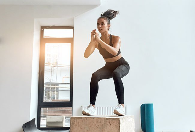 Exercises that strengthen the legs benefits not just the legs but the whole body.
