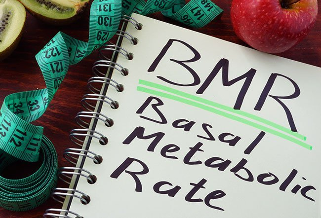 The formula for basal metabolic rate (BMR) is different for men and women
