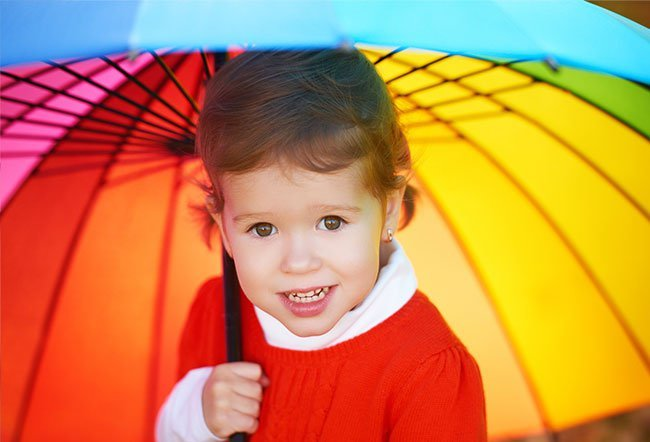 """The term """"rainbow baby"""" symbolizes joy and hope brought after a spell of sadness."""