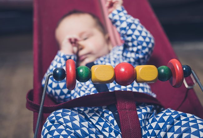 Inclined sleep dangerous for babies