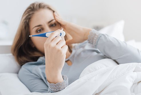 COVID-19 infection symptoms and signs include fever, shortness of breath, and cough.