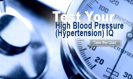 Test Your High Blood Pressure (Hypertension) IQ
