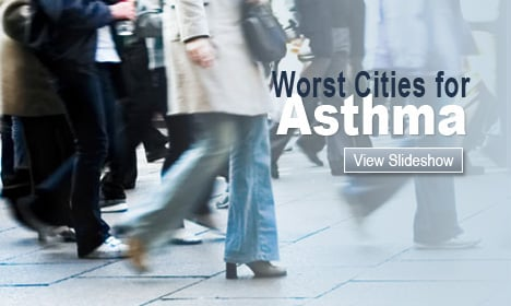Worst Cities for Asthma