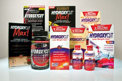 This picture shows some of the Hydroxycut products that are being recalled