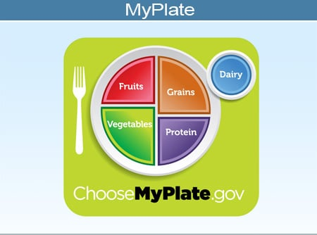 Picture of the MyPlate icon