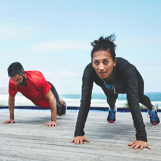 High-intensity interval training (HIIT) is a method of training in which your workout's intensity is increased and decreased between aerobic and anaerobic training. Intervals can improve performance and recovery in a short amount of time.