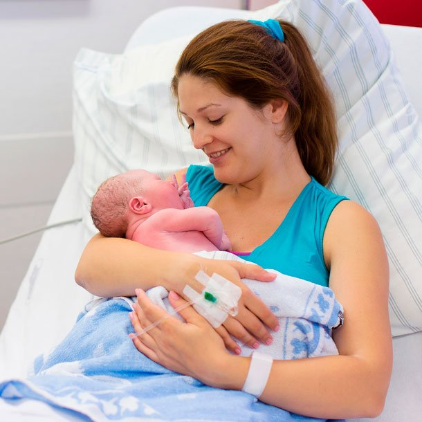 Newborn infant hearing screening can detect hearing loss in newborns before discharge from the hospital.