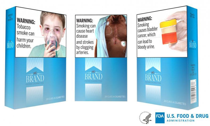 Graphic Photos Coming to U.S. Cigarette Packs