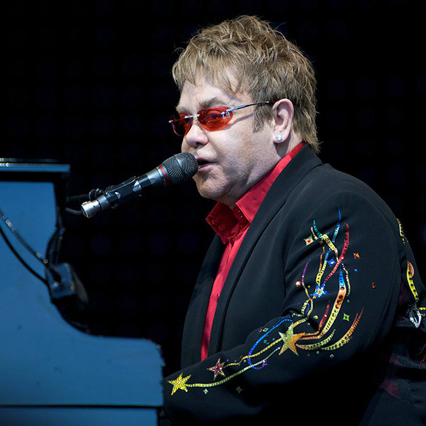 Singer, songwriter, and pianist Elton John says he is suffering from walking pneumonia.