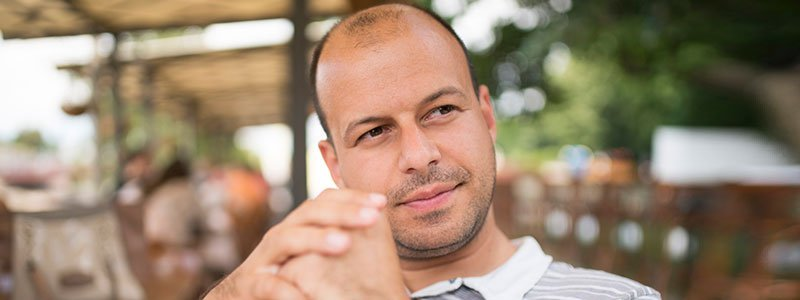 Testosterone levels are not associated with male pattern baldness.