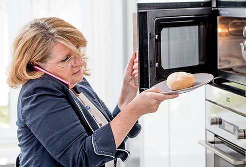 You are probably safe to use your microwave and smartphone as intended.