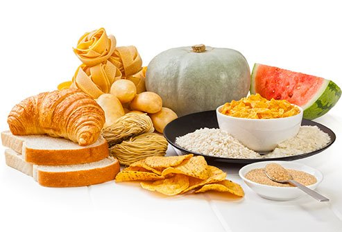 Eating a diet full of high glycemic foods can increase the risk of breakouts.