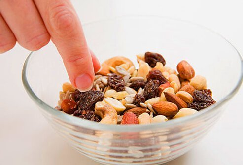 Snacking helps keep your metabolism in high gear, especially if the snacks are protein-rich.