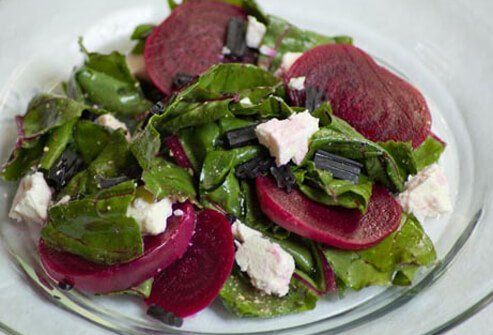 Photo of beet salad.